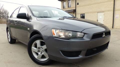 2008 Mitsubishi Lancer for sale at Prudential Auto Leasing in Hudson OH