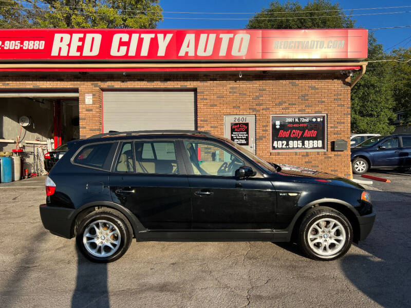 2004 BMW X3 for sale at Red City  Auto in Omaha NE