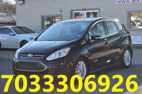 2017 Ford C-MAX Energi for sale at MANASSAS AUTO TRUCK in Manassas VA