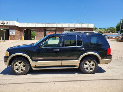 2005 Ford Explorer for sale at RIVERSIDE AUTO SALES in Sioux City IA