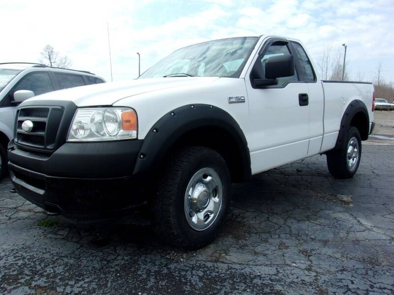2007 Ford F-150 for sale at DAVE KNAPP USED CARS in Lapeer MI