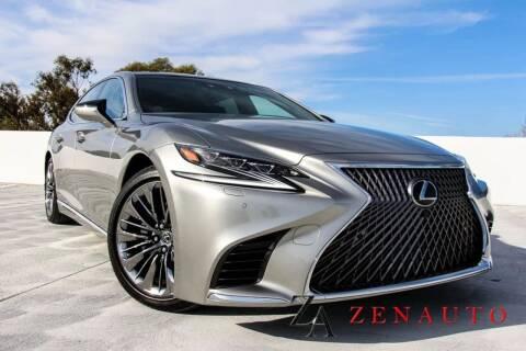 2018 Lexus LS 500 for sale at Zen Auto Sales in Sacramento CA