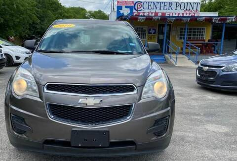 2010 Chevrolet Equinox for sale at Centerpoint Motor Cars in San Antonio TX