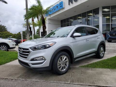 2018 Hyundai Tucson for sale at Mazda of North Miami in Miami FL
