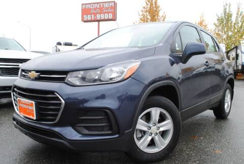 2018 Chevrolet Trax for sale at Frontier Auto & RV Sales in Anchorage AK