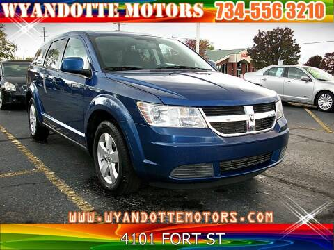 2009 Dodge Journey for sale at Wyandotte Motors in Wyandotte MI