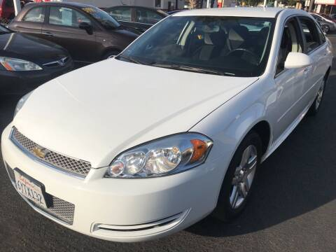 2012 Chevrolet Impala for sale at CARZ in San Diego CA