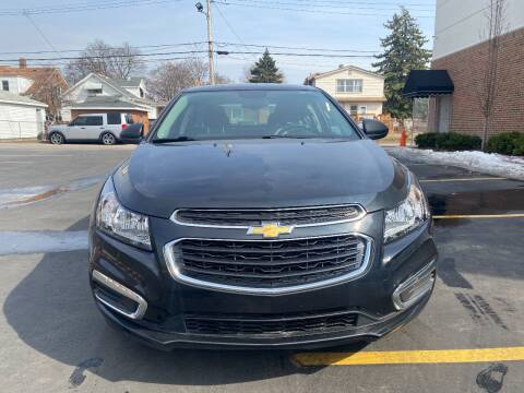 2016 Chevrolet Cruze Limited for sale at Dymix Used Autos & Luxury Cars Inc in Detroit MI