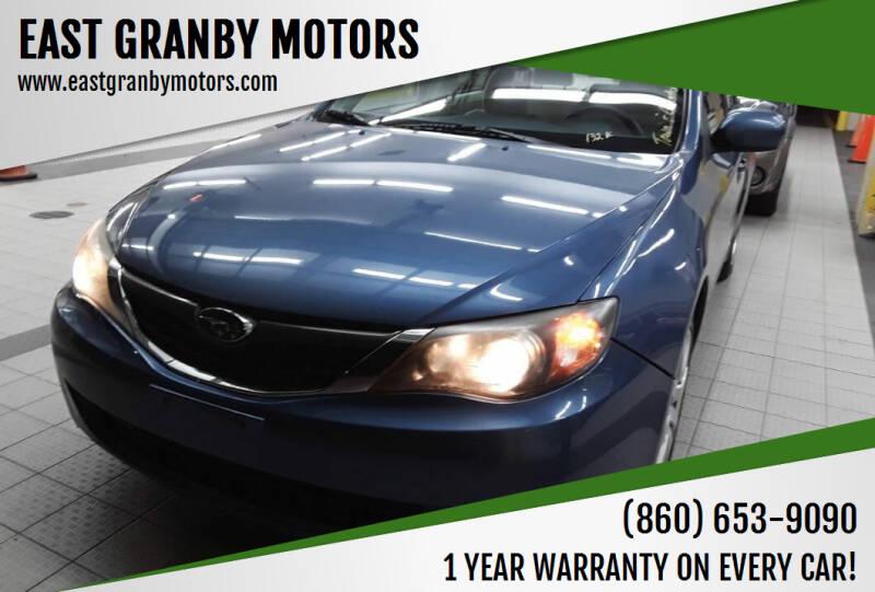2009 Subaru Impreza for sale at EAST GRANBY MOTORS in East Granby CT