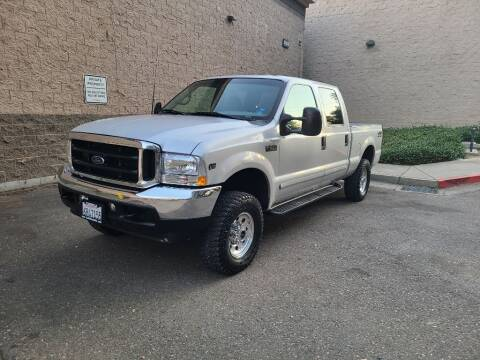 2001 Ford F-250 Super Duty for sale at SafeMaxx Auto Sales in Placerville CA