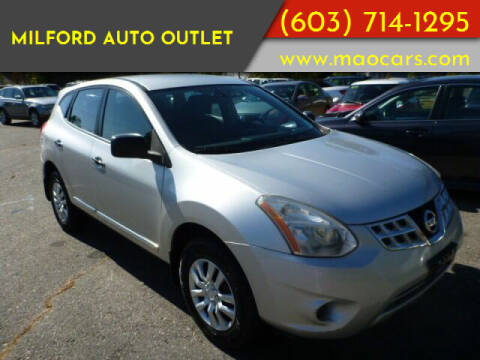 2011 Nissan Rogue for sale at Milford Auto Outlet in Milford NH