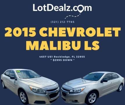 2015 Chevrolet Malibu for sale at ROCKLEDGE in Rockledge FL