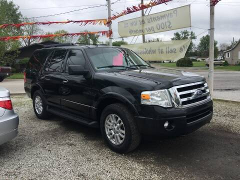 2014 Ford Expedition for sale at Antique Motors in Plymouth IN