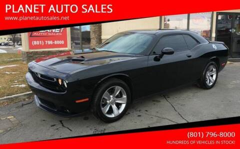 2018 Dodge Challenger for sale at PLANET AUTO SALES in Lindon UT