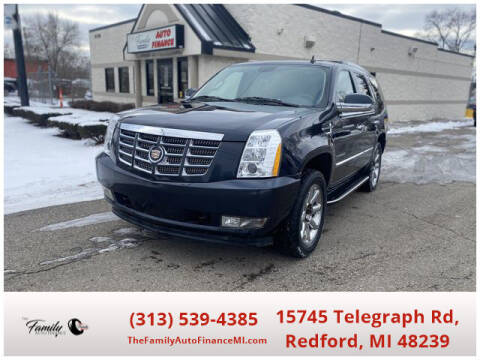 2013 Cadillac Escalade for sale at The Family Auto Finance in Redford MI