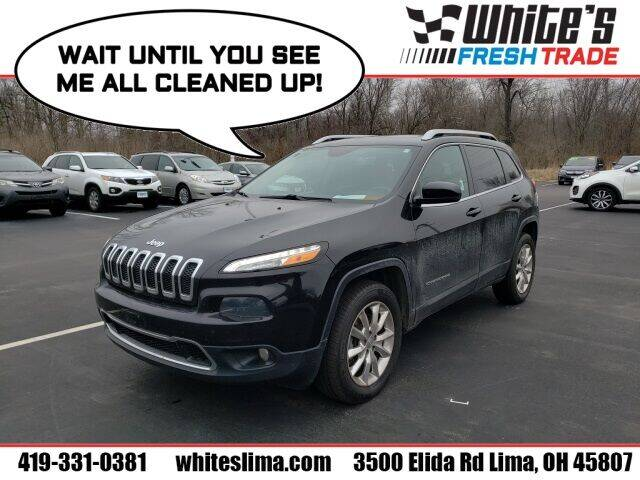 2014 Jeep Cherokee for sale at White's Honda Toyota of Lima in Lima OH