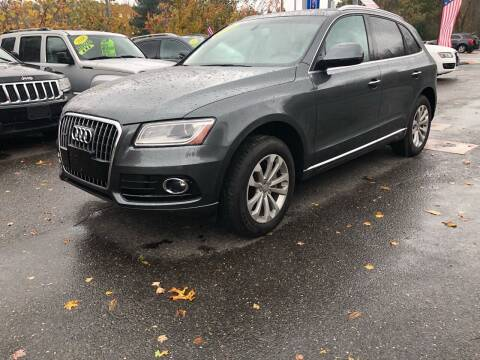 2016 Audi Q5 for sale at TOLLAND CITGO AUTO SALES in Tolland CT