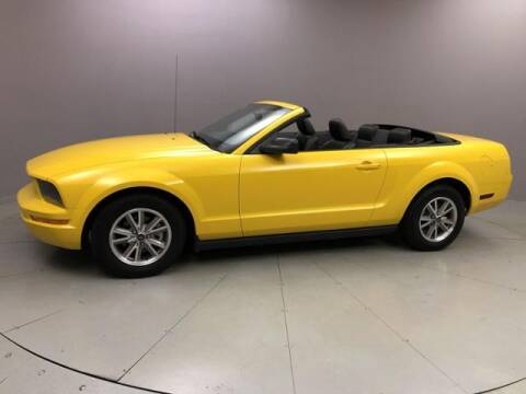 2005 Ford Mustang for sale at J & M Automotive in Naugatuck CT