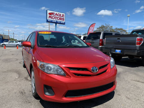 2012 Toyota Corolla for sale at Eagle Motors in Hamilton OH