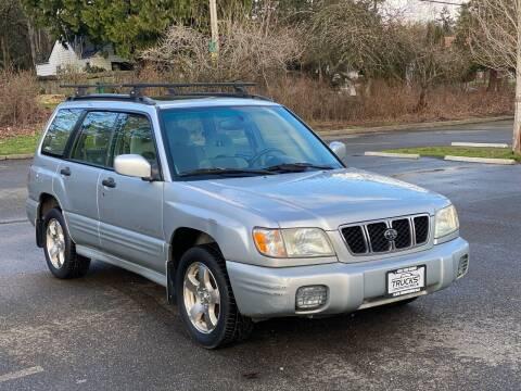 2002 Subaru Forester for sale at Trucks Plus in Seattle WA