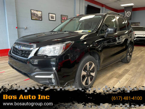 2018 Subaru Forester for sale at Bos Auto Inc in Quincy MA