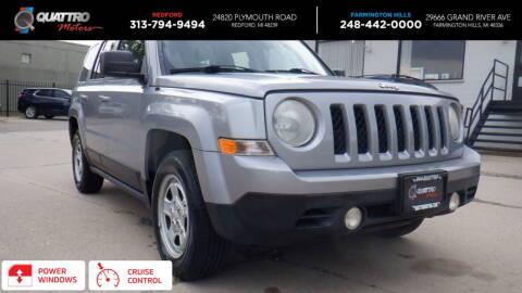 2015 Jeep Patriot for sale at Quattro Motors 2 in Farmington Hills MI