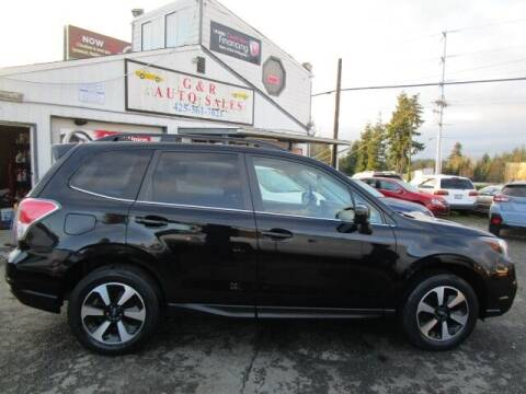 2017 Subaru Forester for sale at G&R Auto Sales in Lynnwood WA