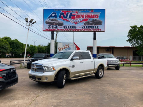 2015 RAM Ram Pickup 1500 for sale at ANF AUTO FINANCE in Houston TX