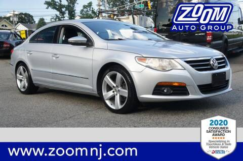 2012 Volkswagen CC for sale at Zoom Auto Group in Parsippany NJ