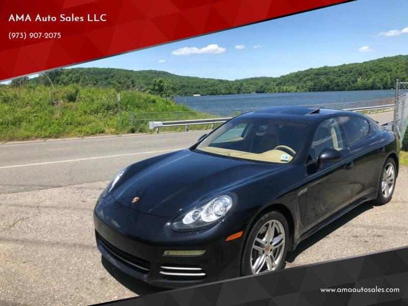 2015 Porsche Panamera for sale at AMA Auto Sales LLC in Ringwood NJ