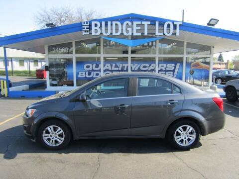 2013 Chevrolet Sonic for sale at THE BUDGET LOT in Detroit MI