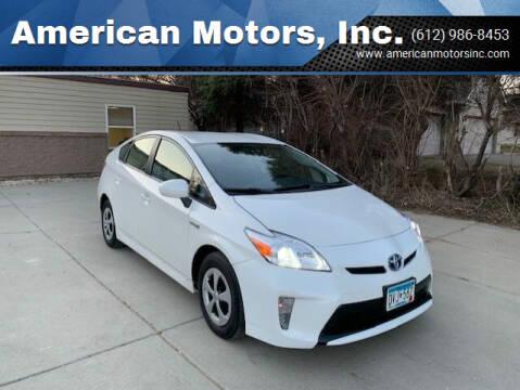 2014 Toyota Prius for sale at American Motors, Inc. in Farmington MN