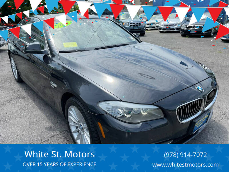 2012 BMW 5 Series for sale at White St. Motors in Haverhill MA