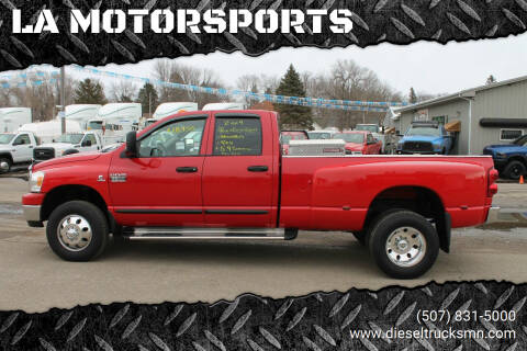 2007 Dodge Ram Pickup 3500 for sale at LA MOTORSPORTS in Windom MN