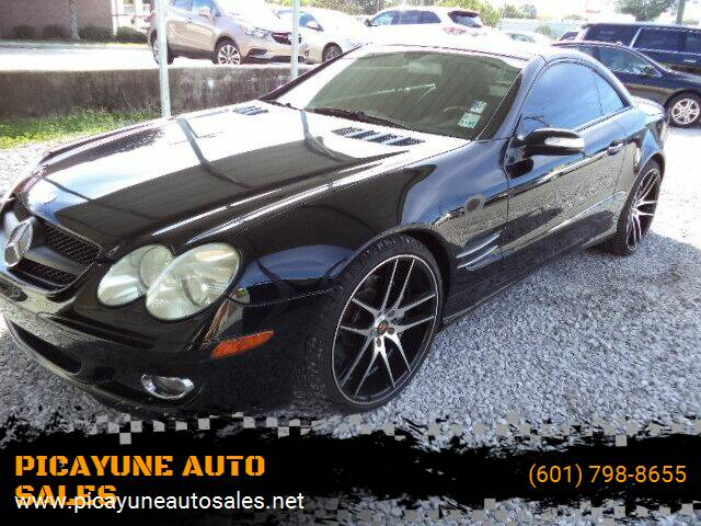 2007 Mercedes-Benz SL-Class for sale at PICAYUNE AUTO SALES in Picayune MS