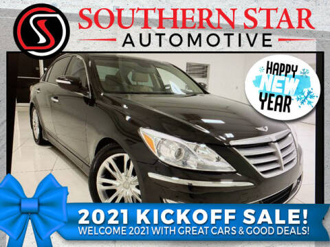 2013 Hyundai Genesis for sale at Southern Star Automotive, Inc. in Duluth GA