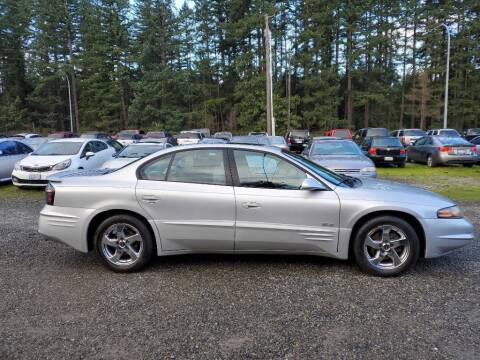 2003 Pontiac Bonneville for sale at WILSON MOTORS in Spanaway WA