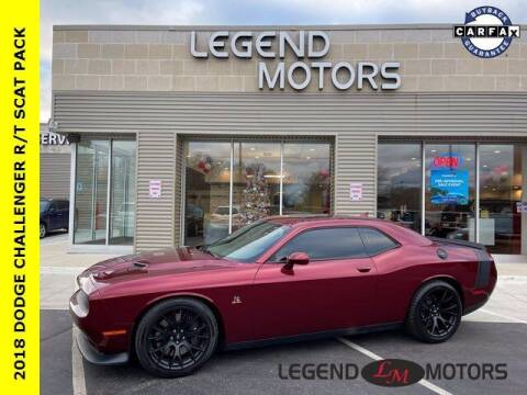 2018 Dodge Challenger for sale at Legend Motors of Waterford in Waterford MI