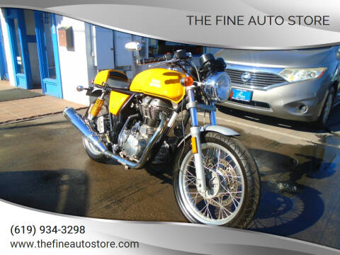 2015 ROYAL ENFIELD CONTINENTAL GT for sale at The Fine Auto Store in Imperial Beach CA