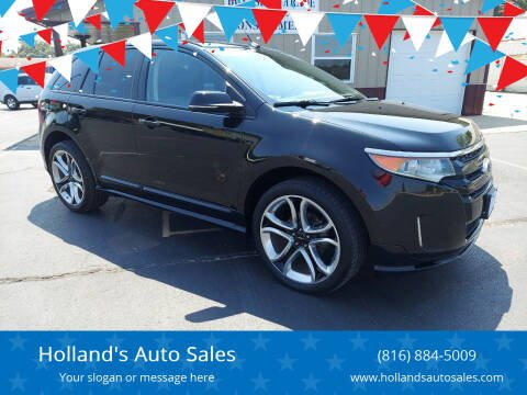2013 Ford Edge for sale at Holland's Auto Sales in Harrisonville MO