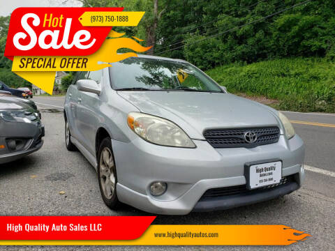 2006 Toyota Matrix for sale at High Quality Auto Sales LLC in Bloomingdale NJ