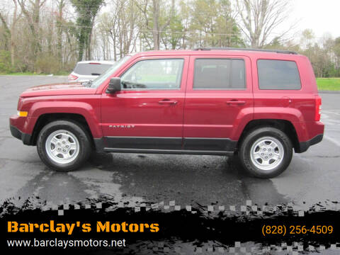 2015 Jeep Patriot for sale at Barclay's Motors in Conover NC