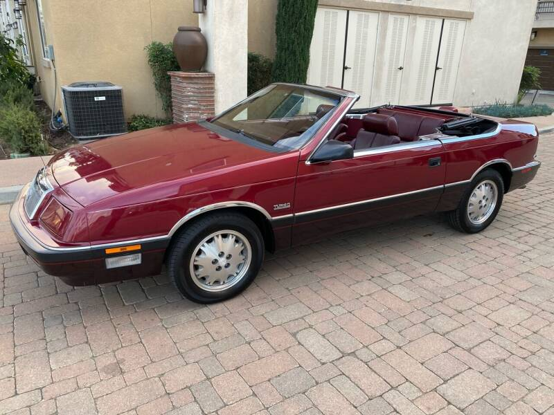 1988 Chrysler Le Baron for sale at California Motor Cars in Covina CA