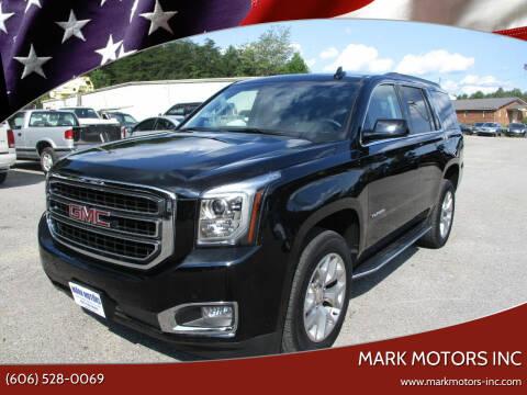 2019 GMC Yukon for sale at Mark Motors Inc in Gray KY