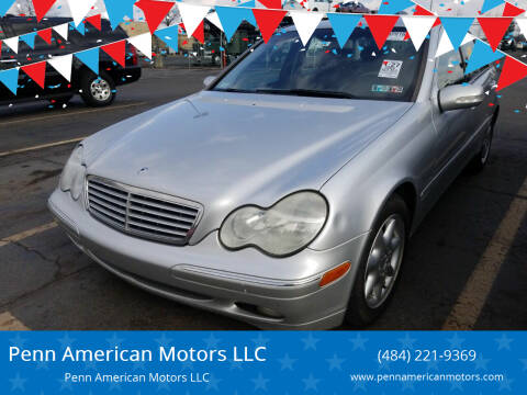 2004 Mercedes-Benz C-Class for sale at Penn American Motors LLC in Allentown PA