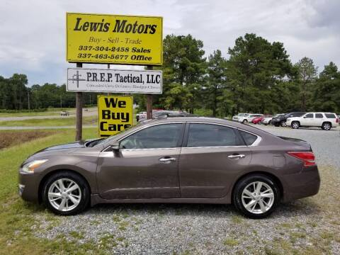 2013 Nissan Altima for sale at Lewis Motors LLC in Deridder LA