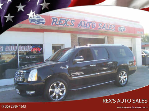 2008 Cadillac Escalade ESV for sale at Rex's Auto Sales in Junction City KS