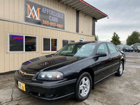 2003 Chevrolet Impala for sale at M & A Affordable Cars in Vancouver WA