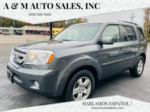 2009 Honda Pilot for sale at A & M Auto Sales, Inc in Alabaster AL