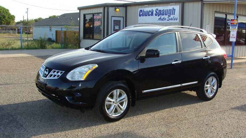 2012 Nissan Rogue for sale at Chuck Spaugh Auto Sales in Lubbock TX